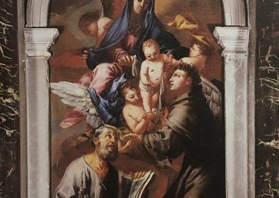 Sacra Famiglia e S. Antonio